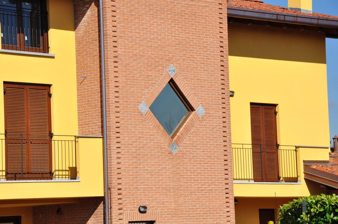 Particolare costruzione in Rovello Porro (CO)