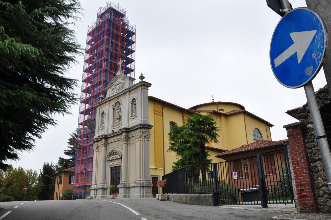 Ristrutturazione tetto e campanile Chiesa di Breganno (CO)